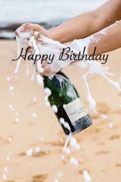 Happy Birthday Pictures, Happy Birthday Fun, Happy Birthday Quotes, Digital Footprint, Jack Daniels, Nara, Wines, Celebrations, Champagne