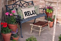front porch spring summer decorating ideas - Google Search