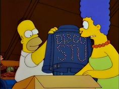 """Oh, I wanted to write 'Disco Stud,' but I ran out of space. Not that Disco Stu didn't get his share of the action."""