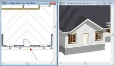 How to Use the Gable Roof Line Tool - Chief Architect Software Help