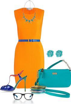 Outfit Idea : Analogous Colors Outfit