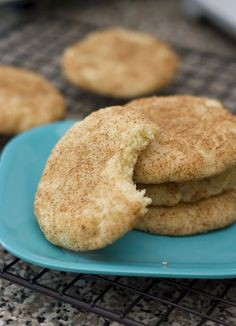 My FAV cookie of all time!!! SNICKERDOODLE :D