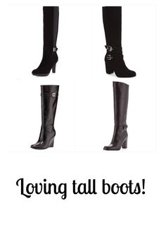 This was a cold week so my tall boots came in handy! Pop on over for a week of outfit inspiration at ASB!