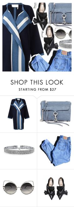 """""""I knew the first time we met, you'd be kinda hard to forget"""" by pastelneon ❤ liked on Polyvore featuring Chloé, Rebecca Minkoff, Bling Jewelry, Levi's, Marc Jacobs, Latelita, Blue, jeans, CasualChic and blinddate"""