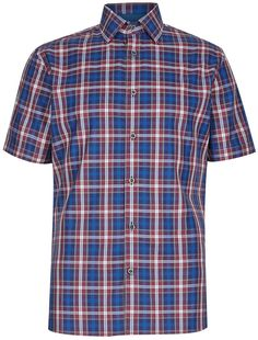 Blue Harbour Pure Cotton Tailored Fit Classic Checked Shirt £22 37% OFF! #bestdressed #fashion #ukhd #style #deal http://www.bestdressed.co.uk