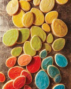 Easter Cookies // Painted Egg Cookies Recipe