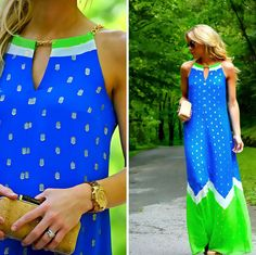 Mary from @HappilyGrey in Lilly Pulitzer Summer '13- Winnie Dress
