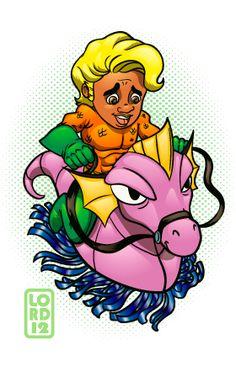 Aqua-Raj by lordmesa.deviantart.com on @DeviantArt- the Big Bang as their costumed counterparts!!!