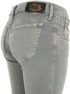 Diesel Getlegg 011c Grey Green Jeans in Gray (grey) - Lyst