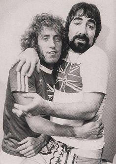 Roger Daltrey and Keith Moon