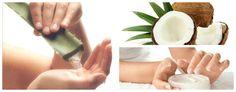 Gel con Aceite de Coco y Aloe Vera para eliminar arrugas, estrías y manchas