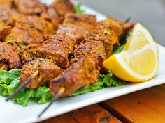 Despite my love/hate relationship with skewered meat, the Moorish influenced spice mixture adorning the pork in these Pinchos Morunos creates a type of meat-on-a-stick that I can sure get behind.