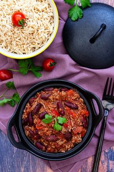 Chili con Carne - Amandine Kochen - Famous Last Words Batch Cooking, Cooking Time, How To Cook Chili, Plats Weight Watchers, Flan, Food Photo, Guacamole, Food Inspiration, Food Recipes