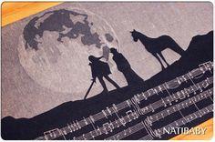 Natibaby Adventure Song Foggy Night Wrap (linen)