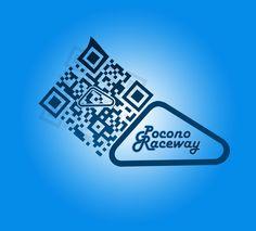 Custom QR Code for the Pocono Raceway Qr Codes, Coding, Sexy, Programming