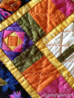Video: Hand Quilting With Perle Cotton