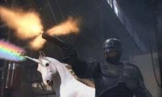 That's one bad ass unicorn!