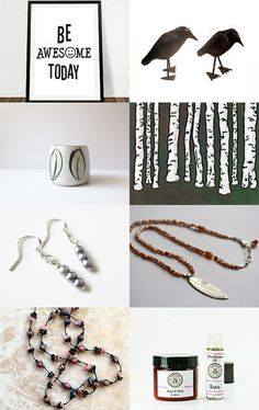 Be Awesome today by Hilit Ka on Etsy--Pinned with TreasuryPin.com