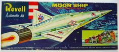 Revell MOON SHIP 'S' Model Kit (1957)