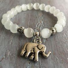 Elephant Bracelet Elephant Jewelry Boho Bracelet by indietiez