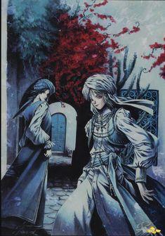 Trinity Blood - Fabrica Theologiae - Radu Barvon and  Ion Fortuna,Earl of Memphis