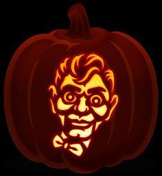 Slappy goosebumps  pumpkin Halloween Camping, Halloween Kids, Halloween Pumpkins, Halloween Crafts, Happy Halloween, Pumpkin Stencil, Pumpkin Art, Pumpkin Ideas, Haloween Party