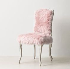 Exceptional RH TEENu0026 Sophie Kashmir Faux Fur Desk Chair   Dusty Rose:A Classic Louis XV  Silhouette Is Given An Extra Dose Of Glamour When Upholstered In Faux Fur. Photo Gallery