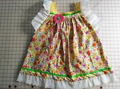 Angel Wings Dress, size 6.  Can be custom ordered in your child's size and preferred colors