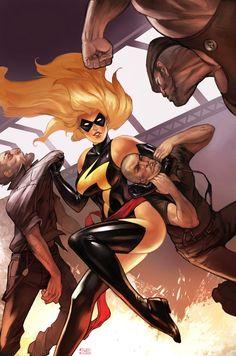 Ms. Marvel, my favorite super hero :)
