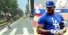 Fanático persigue el taxi de Yasiel Puig para que le firme un autógrafo (VIDEO) #Deporte #cubano #pelotero #YasielPuig