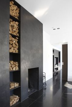 10 Trusting Clever Hacks: Brick Fireplace With Wood Storage old fireplace makeover.Fireplace Living Room How To Build. Small Fireplace, Concrete Fireplace, Home Fireplace, Fireplace Surrounds, Fireplace Design, Fireplace Ideas, Fireplace Inserts, Fireplace Modern, Traditional Fireplace