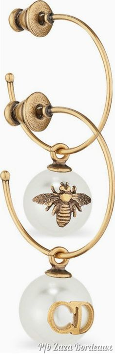 French Fashion Designers, Queen Bees, Spiders, Christian Dior, Butterflies, Honey, House Styles, Accessories, Jewelry