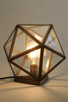 Magical Thinking Geo Table Lamp - Urban Outfitters