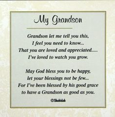 Always Know Your Gramma Loves You Grandson Birthday Wishes 21st Happy