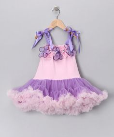 Take a look at this Pink & Purple Dress - Infant & Toddler by Royal Gem Clothing on #zulily today!