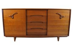 Oldie but goodie: gorgeous 1950s treasure-chest dresser by famed designer Paul Laszlo for Brown-Saltman.