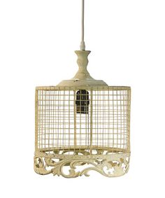 Another great find on #zulily! White Small Metal Pendant Light #zulilyfinds