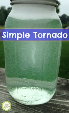 Your mini scientist will have a blast with this hands-on experiment. http://www.greenkidcrafts.com/tornado-experiment/