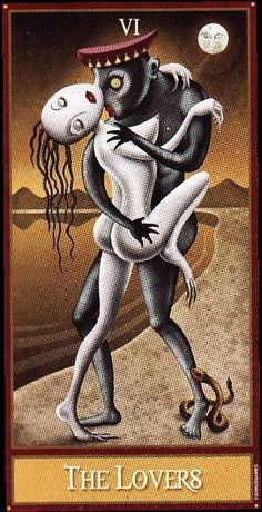 Miss me? Well I'm back with new daily readings. Today is The Lovers. Make sure you examine your relationships and make sure they are indeed healthy relationships.!