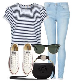 """Outfit"" by iwishiwasbritish12 ❤ liked on Polyvore featuring Topshop, Mulberry, Converse, Ray-Ban and Burberry"
