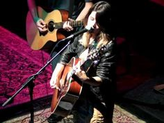 Video of 2 acoustic songs by songwriter Maren Morris in Dallas at the legendary Kessler Theater.
