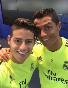 #cames never die - james rodriguez and cristiano