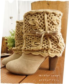 【楽天市場】【再入荷♪12月3日11時より】* cawaiiオリジナル * なんて斬新なの。靴デザイナーの遊び心。品のある手編みknitで覆った本革ショートブーツ。品のある足元簡単コーデが完成。(メール便不可)森ガ-ル:ワンピース専門店 Cawaii