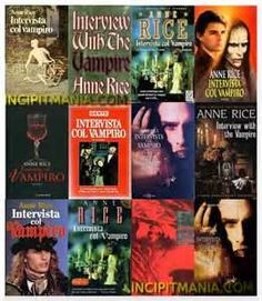 Anne Rice  I confess I read everyone of her books! She was the queen of vampire books in her day