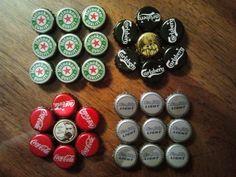Bildungsroman Me: How to make Bottle Cap Coasters