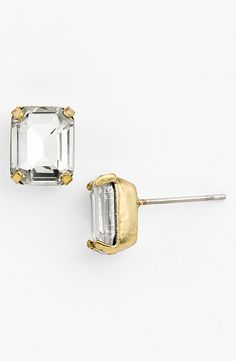 Emerald Cut Stud Earrings | Nordstroms