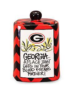 Georgia Bulldogs Cookie Jar #Belk #collegiate #home
