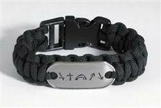 Witness Nylon Survivor Bracelet  $2.50