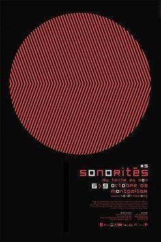 le jardin graphique, visuel Sonorités - Vincent Menu