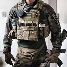 Tactical plate carries multicam